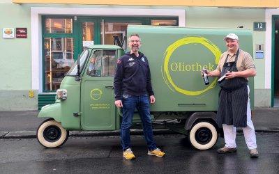 Here we go again: Oliothek beim Mosshammer